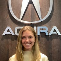 Sarah  Dos Santos  at Acura of Westchester