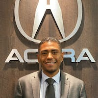 Andre  Santana at Acura of Westchester