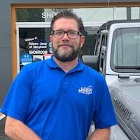 Rusty McGinnis at Adams Jeep Of Maryland Inc