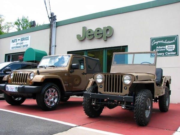 Adams Jeep Of Maryland Inc, Aberdeen, MD, 21001