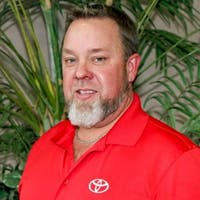 Steve Curry at Freeman Toyota - Service Center
