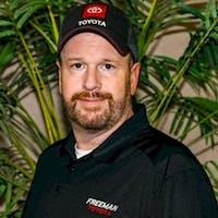Jay  Lassetter at Freeman Toyota