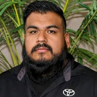 Juan Gutierrez at Freeman Toyota