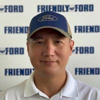 Shawn Wang at Friendly Ford