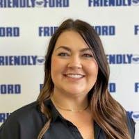 Cheryl Thrun at Friendly Ford