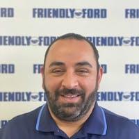 Aram Amajian at Friendly Ford