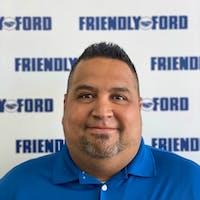 Alberto Meraz at Friendly Ford