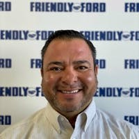Sal Lugo at Friendly Ford