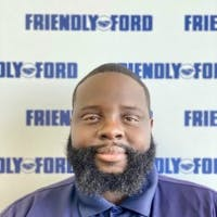 Reshad James at Friendly Ford