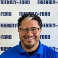 Sheldon Pyke at Friendly Ford