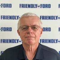 John Sergent at Friendly Ford
