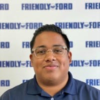 Kevin  Diaz at Friendly Ford