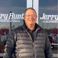 Jeff Wasson at Jerry Hunt SuperCenter
