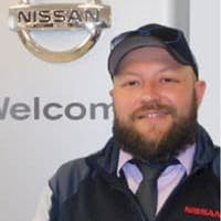 Andrew Vega at Ganley's Mayfield Nissan