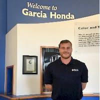 Andrew Dickensheets at Garcia Honda