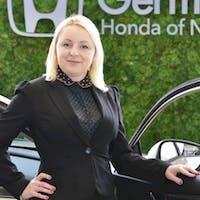 Mona Janjic at Germain Honda of Naples