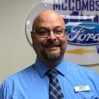 Joe Aguilar at McCombs Ford West