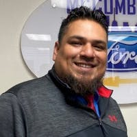 Oscar Lopez at McCombs Ford West