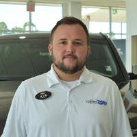 Justin Reeder at Allen Turner Chevrolet
