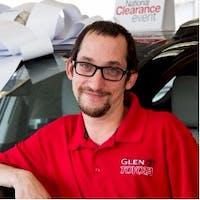 Jonathan  Handelsman at Glen Toyota