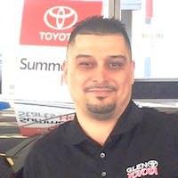 Genaro Rosario at Glen Toyota