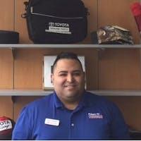 Bruce Rosales at Glen Toyota - Service Center