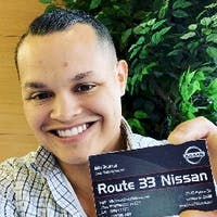 Mike DeJesus at Route 33 Nissan