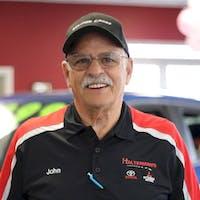 John Averett at Halterman's Mitsubishi