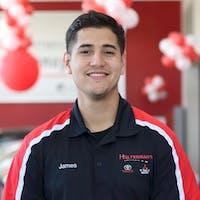 James  Molina at Halterman's Mitsubishi