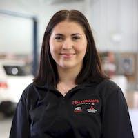 Allison Pustay at Halterman's Mitsubishi