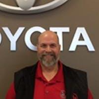Reg Howard at Handy Toyota