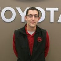 Kyle Ward at Handy Toyota