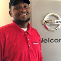 Jordan Washington at Harbor Nissan
