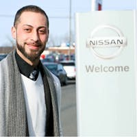 Joseph Pierna at Destination Nissan