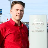 Max Doubina at Destination Nissan