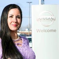 Eva Dacier at Destination Nissan