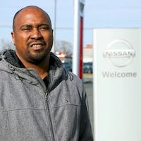 Terrence Baxton at Destination Nissan