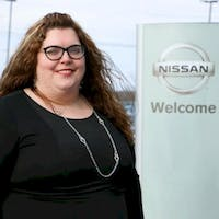 Kathy Ellis at Destination Nissan