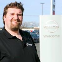Tim McFarland at Destination Nissan
