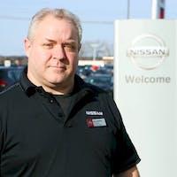 Alan Mckay at Destination Nissan