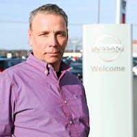 Fred Seckler at Destination Nissan