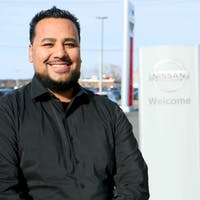 Tim  Perales at Destination Nissan