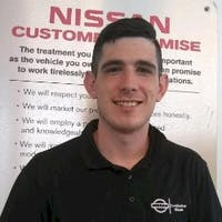 Nick Clark at Destination Nissan