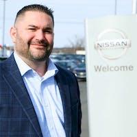 Michael Morton at Destination Nissan