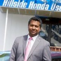 Tony Dias at Hillside Honda