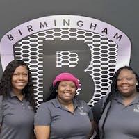 Brionna, Deja and Tia at Birmingham Luxury Motors