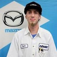Taylor Ranck at John Hine Mazda