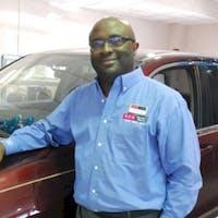 Michael Ehirim at DCH Honda of Nanuet