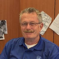 Jim Totten at Huggins Honda