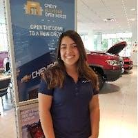Abigail Rivera-Grady at Priority Chevrolet Newport News